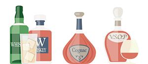 Whisky / Cognac / Brandy