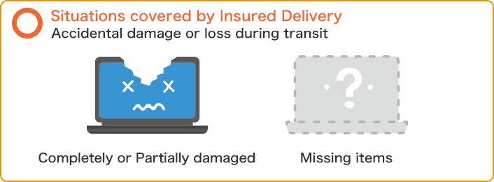 Situations covered by Insured Delivery