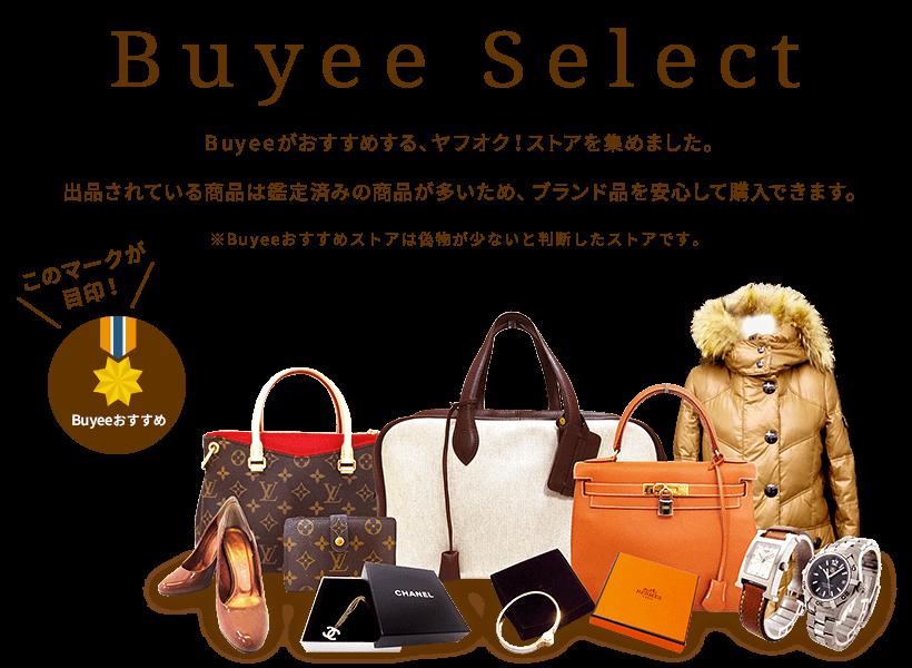Buyee Select 専属の鑑定士がいるヤフオク!ストアを集めました。ほとんどの商品は鑑定済みなので、ブランド品を安心して購入できます。