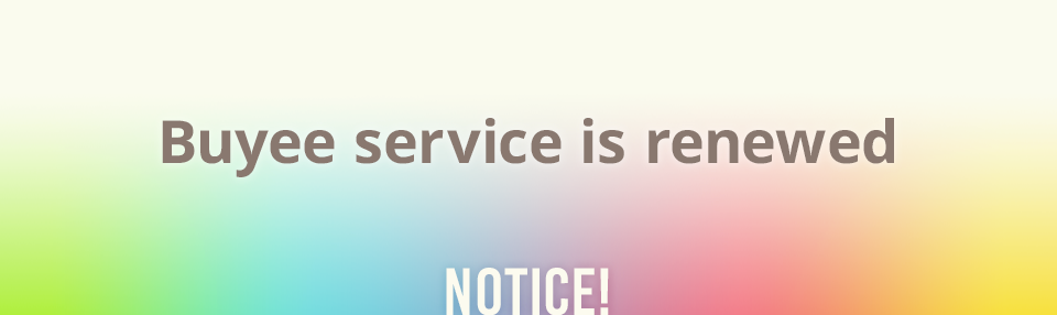 Buyee service is renewed