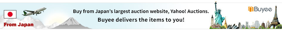 Buy from Japan's largest auction website, Yahoo!Auctions. Buyee delivers the items to you!