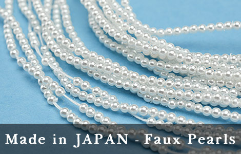 Made in Japan faux pearls