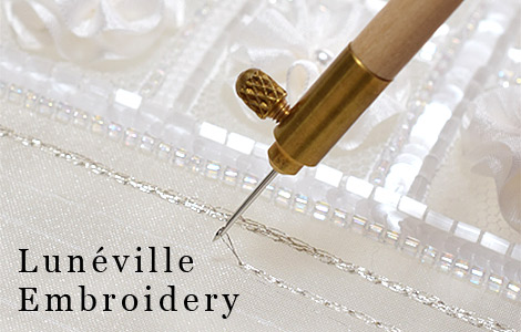 How to luneville embroidery