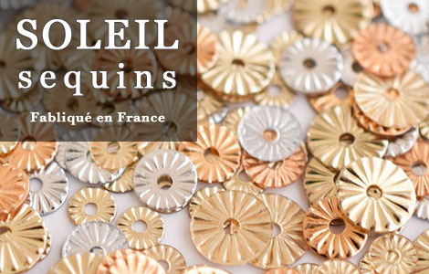 French soleil sequins