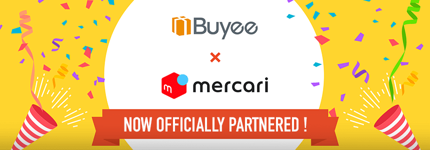 mercari now officially partnered!