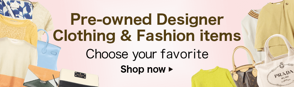 Pre-owned Designer Clothing & Fashion items