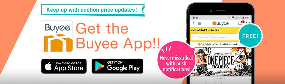 Get the Buyee App
