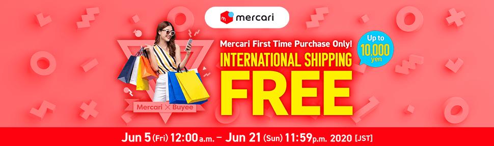 Mercari Special FREE Buyee International shipping free  - Buyee